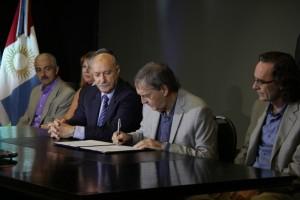 Provincia y el CFI acordaron créditos blandos para Pymes