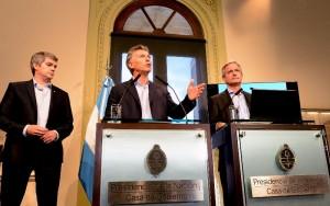 """Macri afirmó que """"el Estado no puede ser un aguantadero de la política"""""""