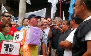 SEP alista marcha por reclamos al gobierno schiarettista