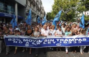 UEPC protesta No a la Ley 10333