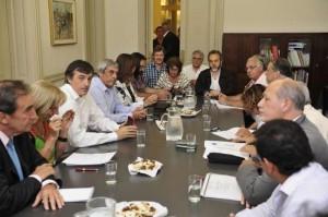 bullrich y gremios docentes nacionales paritarias