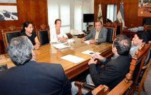 Emergencia habitacional: Labaque gestionó ante funcionaria de Nación, la ejecución de 750 viviendas
