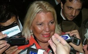 """Al insistir con su denuncia contra Angelici, Carrió ratificó que en el gobierno no puede haber """"operadores"""""""