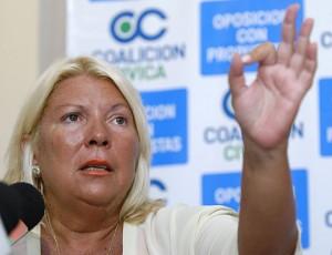 """""""Fraude"""" al Estado: Carrió pedirá que avance la causa contra Cristóbal López y la familia Kirchner"""