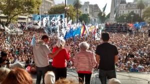 A 40 años del Golpe, organismos de DDHH cuestionaron al gobierno macrista y convocaron a defender la democracia