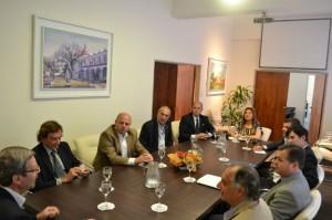 Avanzarán sobre un estudio de competitividad con Brasil y el Mercosur