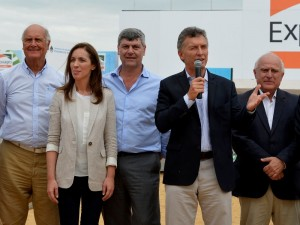"""Desde Expoagro, Macri llamó a hacer """"una verdadera revolución productiva"""" en el campo"""