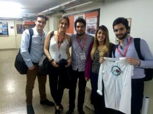 Estudiantes de la UTN Buenos Aires crean una remera deportiva inteligente