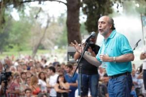 Vicente repudió el atentado contra los locales de agrupaciones kirchneristas en Buenos Aires