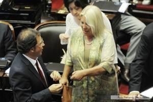 Debate en Diputados: Embestida de Elisa Carrió contra Cristina y Néstor Kirchner