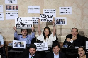 Clima tenso en la apertura del Congreso, por los cruces entre Macri y los kirchneristas