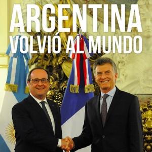 100 días de gobierno: Macri destacó que Argentina logró salir del «aislamiento»