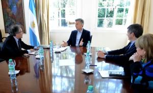 Macri analizó con el Secretario General de la OEA mecanismos para fortalecer los derechos humanos