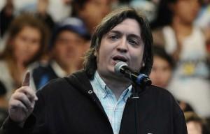 Kirchnerismo puro: Máximo fustigó el acuerdo con los fondos buitre