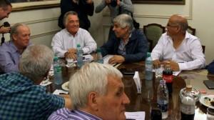 Ante los despidos y Ganancias, las tres CGT se muestran juntas, con miras a la reunificación