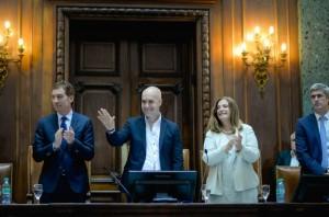 """Rodríguez Larreta se comprometió a """"dejar todo en la cancha"""" durante su gestión en la Ciudad"""