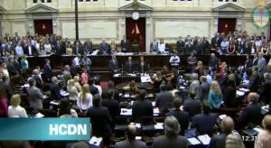 sesion diputados holdouts