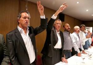 """Gioja y Scioli propusieron una nueva conducción del PJ """"a puertas abiertas"""", aunque sin camporistas en la nómina"""