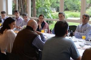 En Olivos, Macri se reunió con referentes sociales y funcionarios
