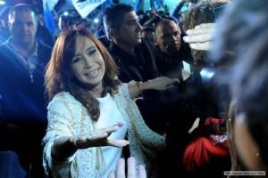 """Imputada en causa de """"lavado"""", CFK llegó a CABA para declarar por la venta de dólar futuro"""