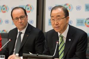Un total de 175 países firmaron en la ONU un histórico acuerdo climático