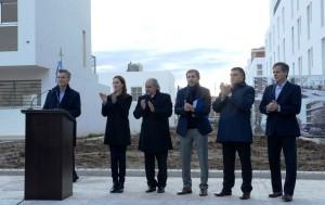 Macri lanzó un plan de viviendas e insistió en la crítica contra el proyecto de ley antidespidos