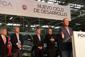 Inversión de FIAT: Schiaretti anunció el apoyo provincial al plan de expansión de la automotriz