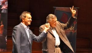 Los ex gobernadores Gioja y Scioli, la fórmula de unidad en el PJ