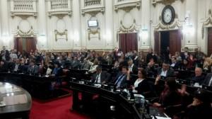 La aprobación del Acuerdo Federal dividió a los bloques opositores mayoritarios (12 abstenciones)
