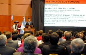 Urtubey lanzó un ambicioso plan de inversiones contracíclicas para hacer frente a la crisis económica y social