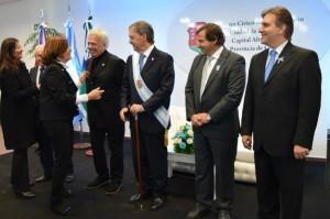 """Junto a De la Sota, Schiaretti ratificó la necesidad de """"unión"""" y se comprometió a colaborará con el próximo intendente"""