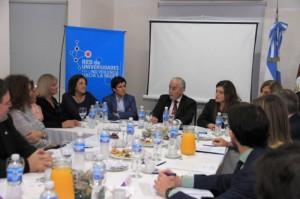 La Red de Universidades colaborará en diseño de políticas para la lucha de la violencia de género