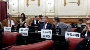 """Unicameral: Arduh trató de """"insensible"""" al gobierno por """"ajustes"""" en el PAICOR"""