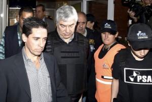 Lázaro Báez sólo presentó un escrito, donde insistió en negar la acusación
