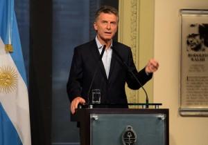 conferencia de prensa Macri 12 enero
