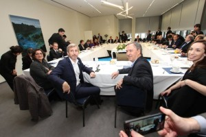 """Al destacar acuerdo con las provincias por la devolución del 15%, Frigerio aclaró que """"acá no hay toma y daca"""""""