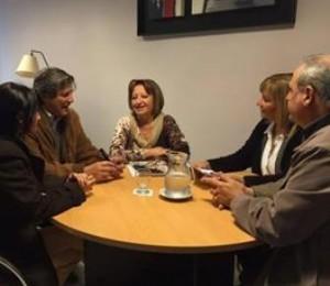 """Radicales valoraron como """"positiva"""" la reunión con López, pero insistieron en sus críticas por el recorte del PAICOR"""