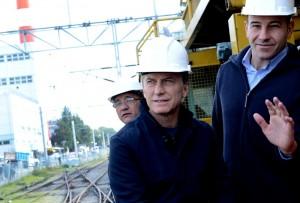"""Macri aseguró que """"se terminó la época en que la obra pública sólo estaba ligada a la corrupción"""""""