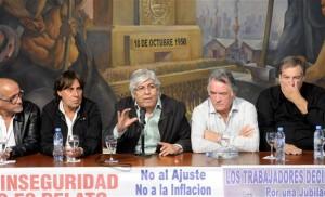 Tras el veto de Macri, Micheli anticipó que con CGT se decidirá paro general