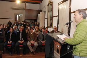 Al anunciar obras hídricas, Schiaretti volvió a advertir  la toma de medidas para minimizar o evitar los riesgos del cambio climático