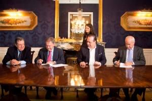 En el marco del acuerdo con Air Europa, Schiaretti instó a los empresarios españoles a invertir en hotelería en CBA