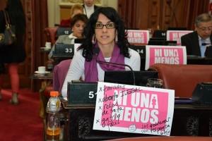 Vilches cuestionó al oficialismo por paralizar la Comisión que debe tratar proyectos sobre violencia de género