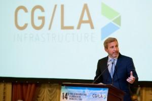 """«El objetivo del presidente es invertir el 6 por ciento del PBI en infraestructura"""""""