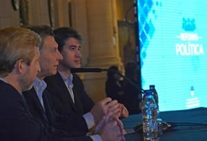 """La reforma electoral puede romper el """"círculo vicioso"""" de la política"""