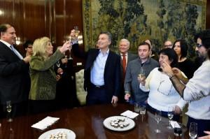 """Macri pidió """"respetar la privacidad de las personas"""", al referirse al artículo 85 del proyecto de ley de blanqueo"""