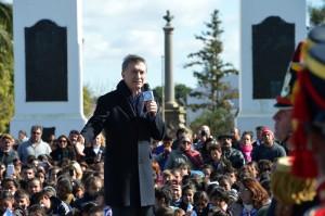 """Tras advertir que la herencia recibida fue un país """"estancado"""", Macri afirmó que su gobierno está """"haciendo lo correcto"""""""