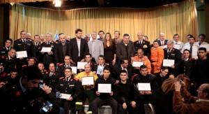"""Sierras Chicas: Destacan el """"aporte vital"""" de los bomberos en la asistencia a los damnificados"""