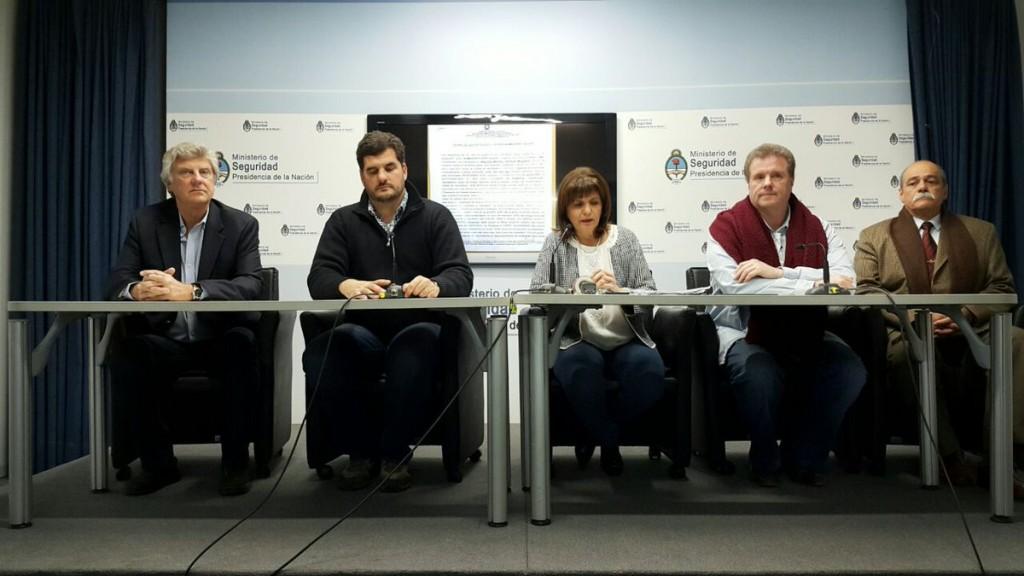 bullrich conferencia de prensa