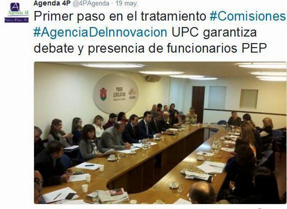 comision UPC agencia innovacion