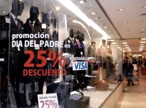 Las ventas por el día del padre cayeron 7,5%